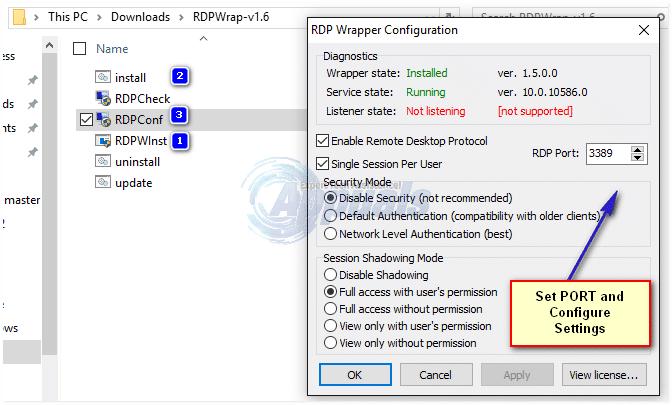 Come abilitare Connessione Desktop remoto RDP in Windows Home