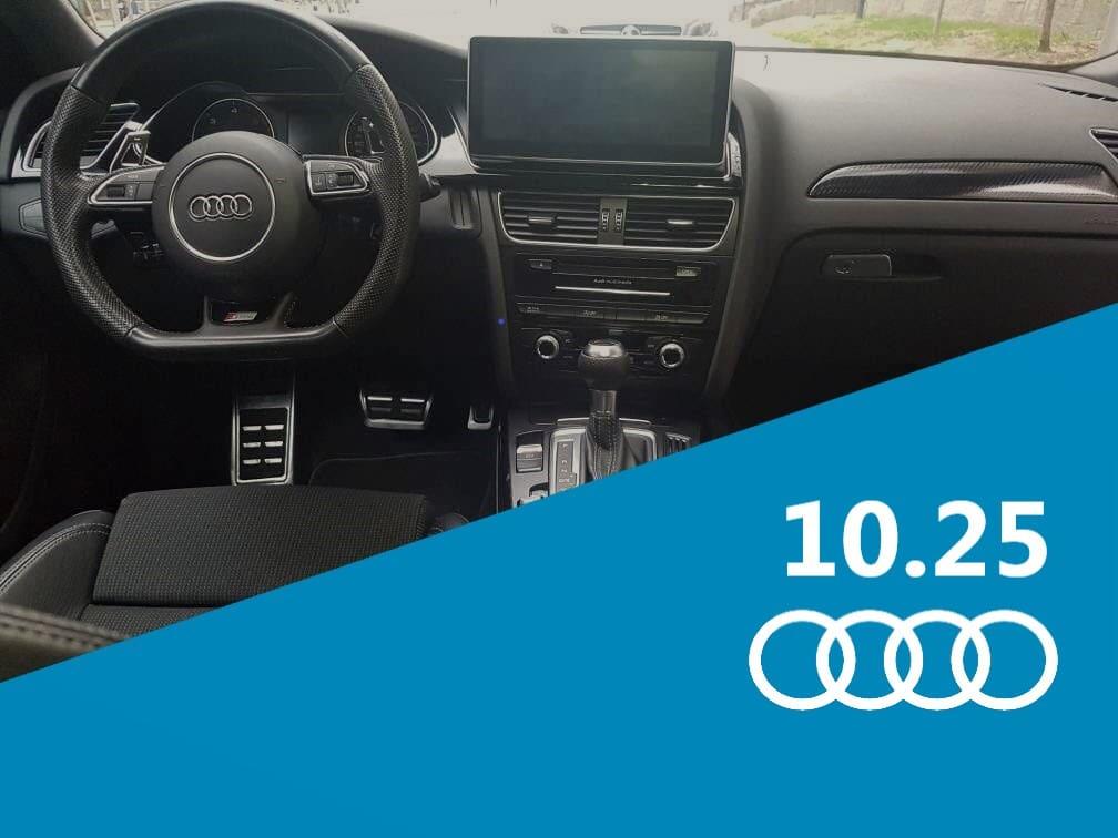 Recensione Autoradio 10.25 Android per AUDI A4 A5 Q5 2009-2016